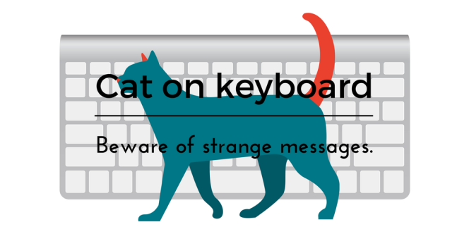 Cat on keyboard-2